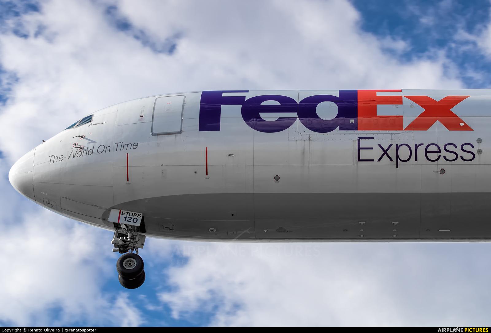 FedEx Federal Express N120FE aircraft at Campinas - Viracopos Intl