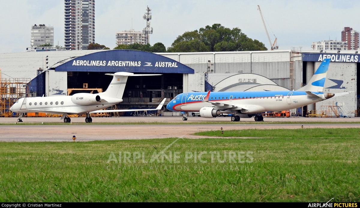 TAG Aviation EC-KBR aircraft at Buenos Aires - Jorge Newbery