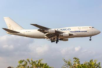 EW-465TQ - TransAviaExport Boeing 747-300SF