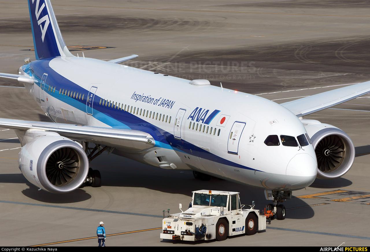 ANA - All Nippon Airways JA838A aircraft at Tokyo - Haneda Intl