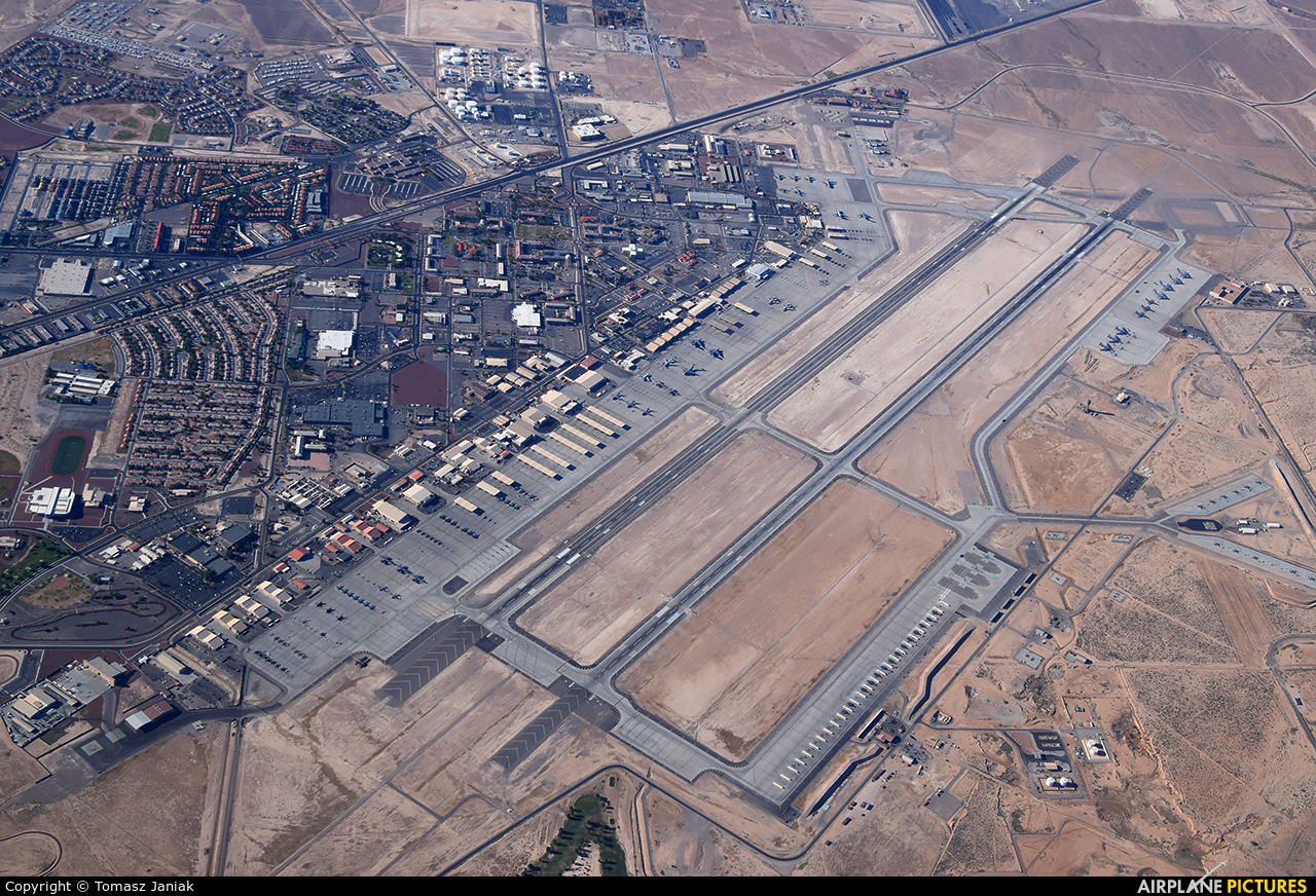 - Airport Overview - aircraft at Nellis AFB