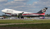 First visit of SF Airlines Boeing 747F to Warsaw title=