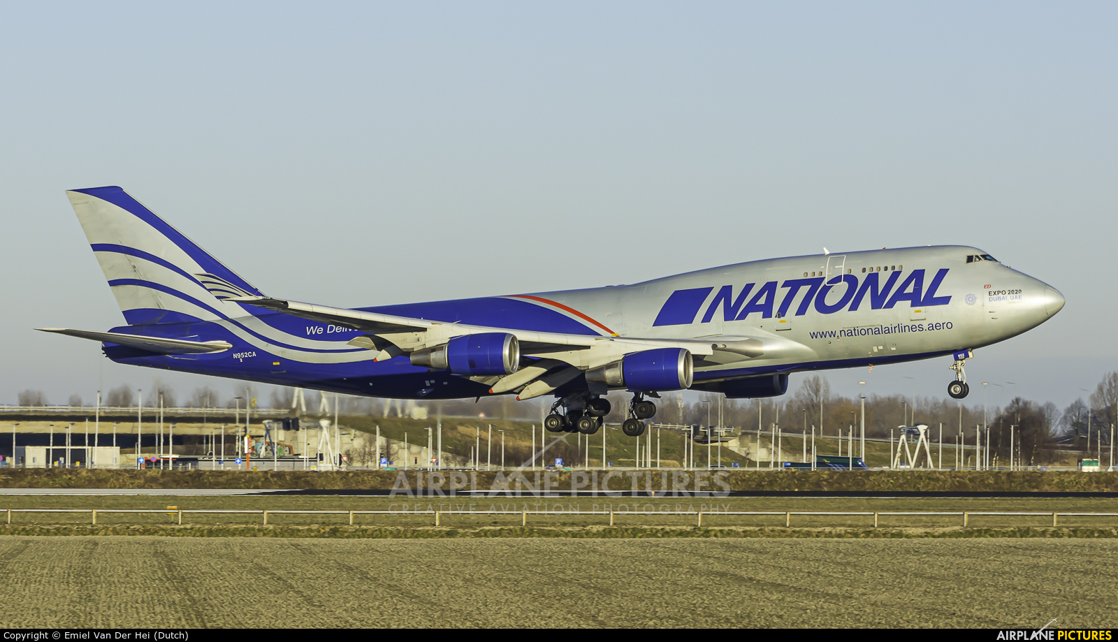 National Airlines N952CA aircraft at Amsterdam - Schiphol