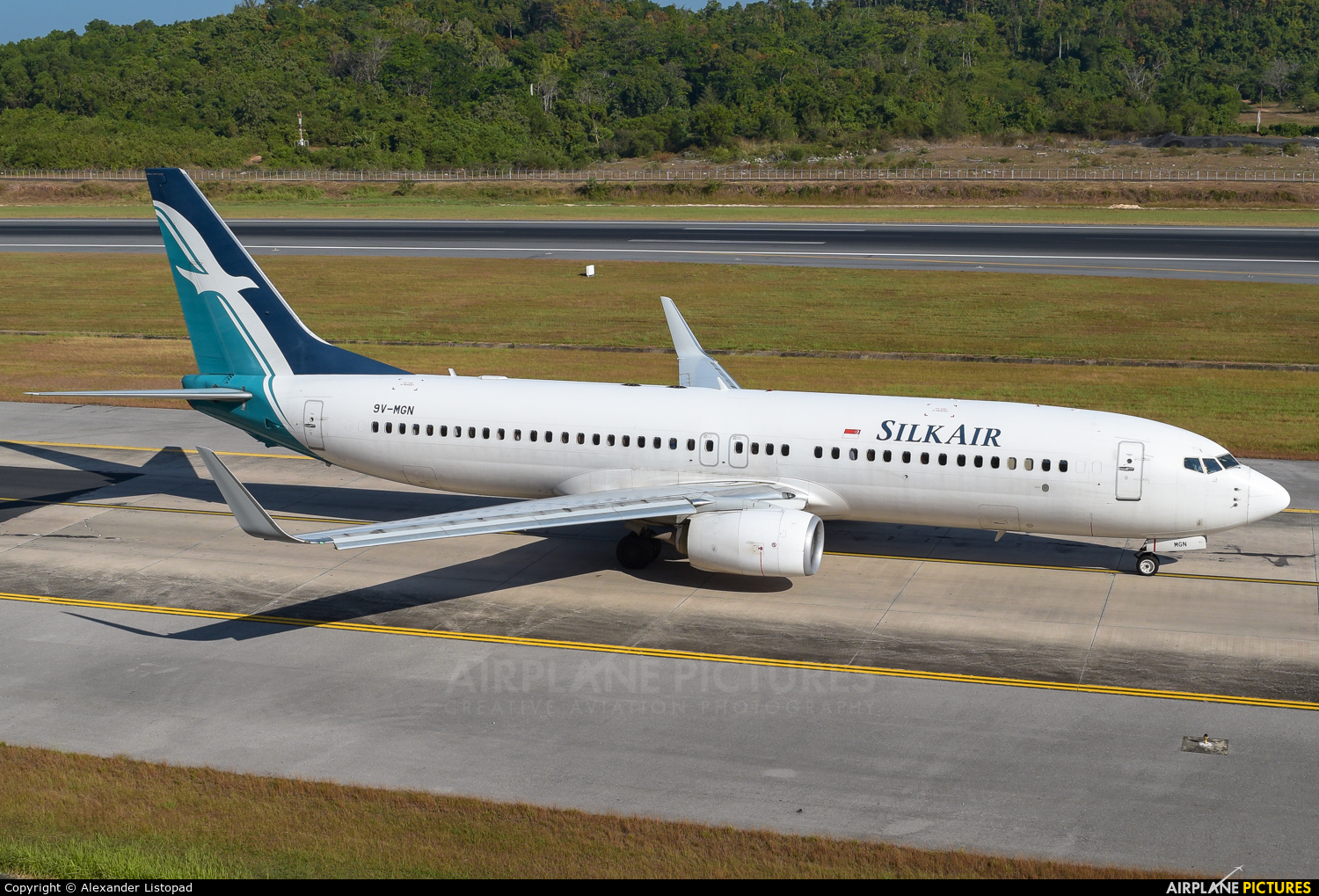 SilkAir 9V-MGN aircraft at Phuket