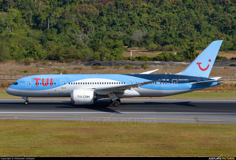 TUI Airways G-TUIB aircraft at Phuket