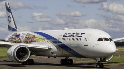 4X-EDL - El Al Israel Airlines Boeing 787-9 Dreamliner