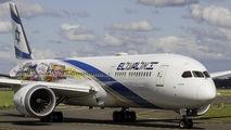 4X-EDL - El Al Israel Airlines Boeing 787-9 Dreamliner aircraft