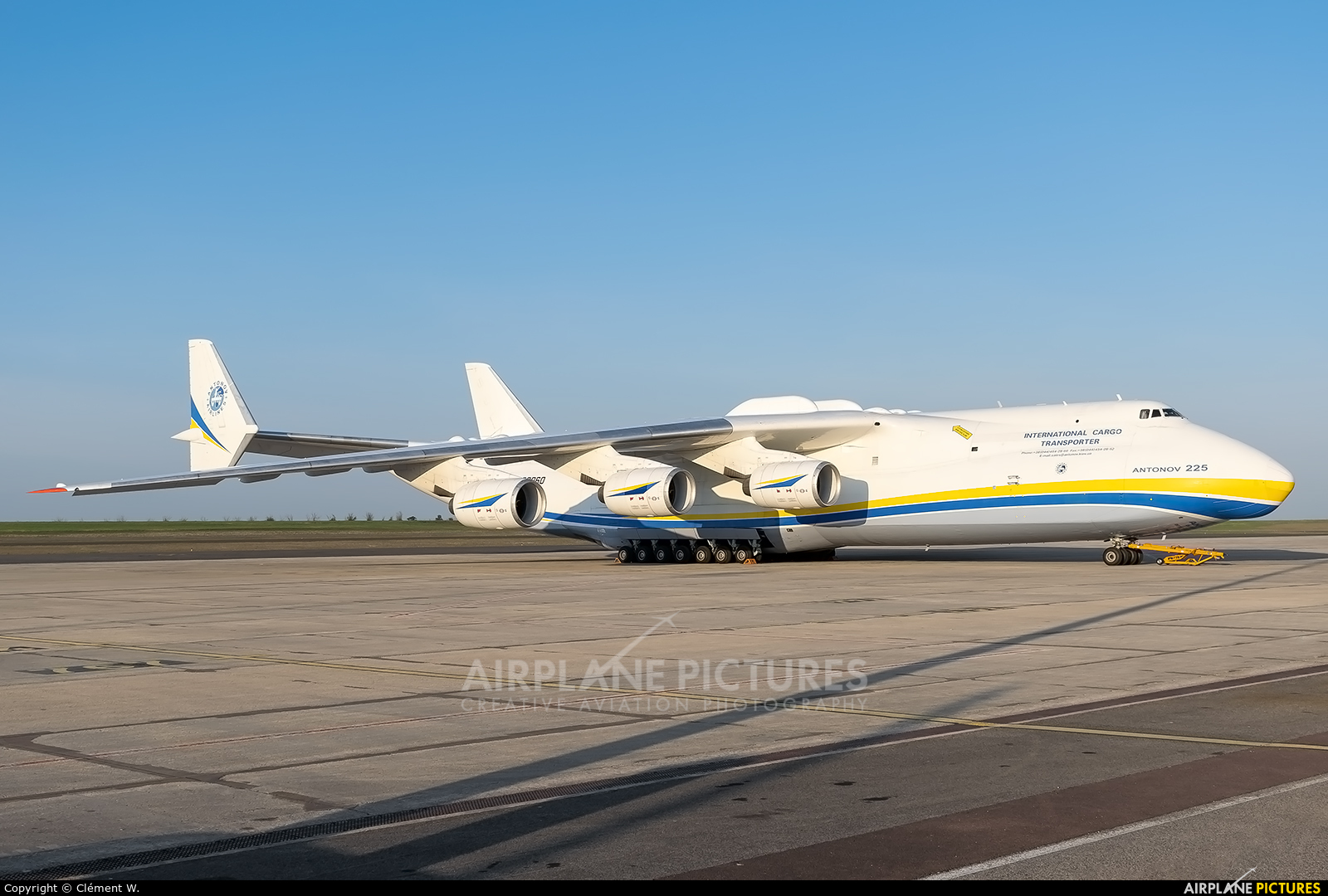 Antonov Airlines /  Design Bureau UR82060 aircraft at Chalons Vatry Airport