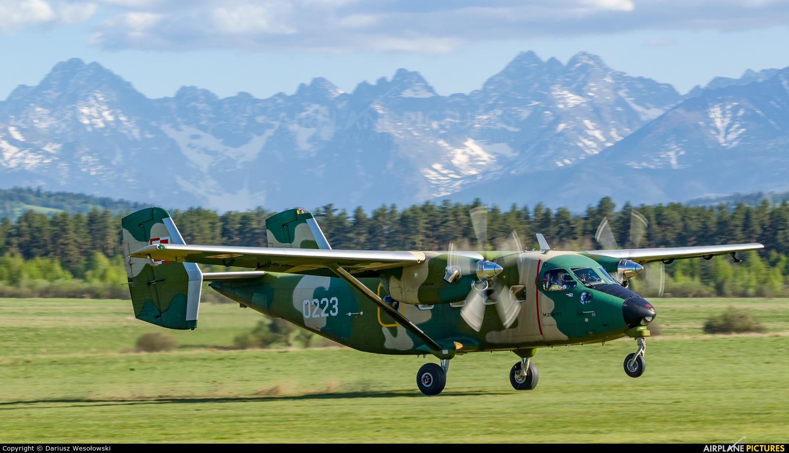 Poland - Air Force 0223 aircraft at Nowy Targ