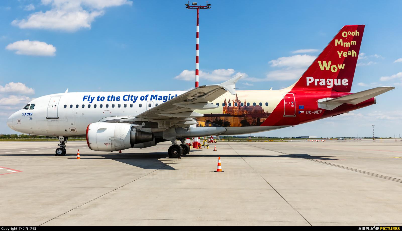 CSA - Czech Airlines OK-NEP aircraft at Prague - Václav Havel