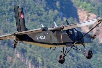 V-631 - Switzerland - Air Force Pilatus PC-6 Porter (all models)
