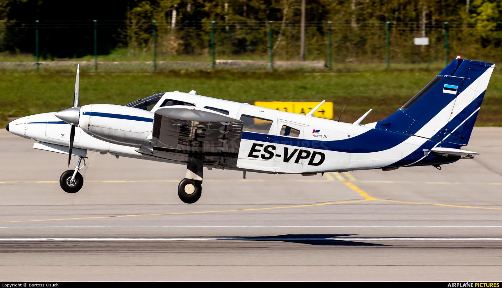 Private ES-VPD aircraft at Gdańsk - Lech Wałęsa