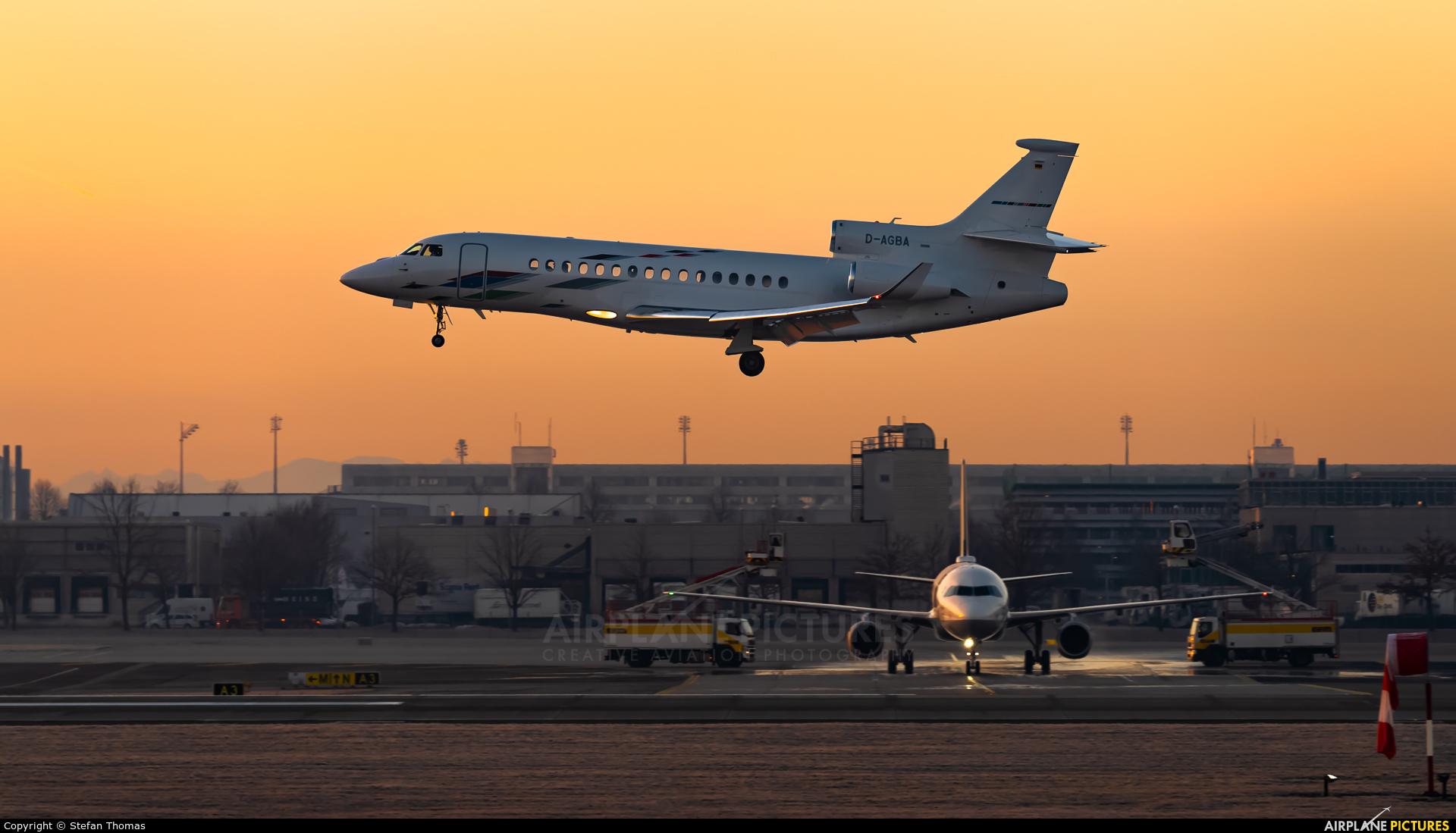 Volkswagen Air Services D-AGBA aircraft at Munich