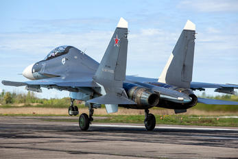 RF-34009 - Russia - Navy Sukhoi Su-30SM