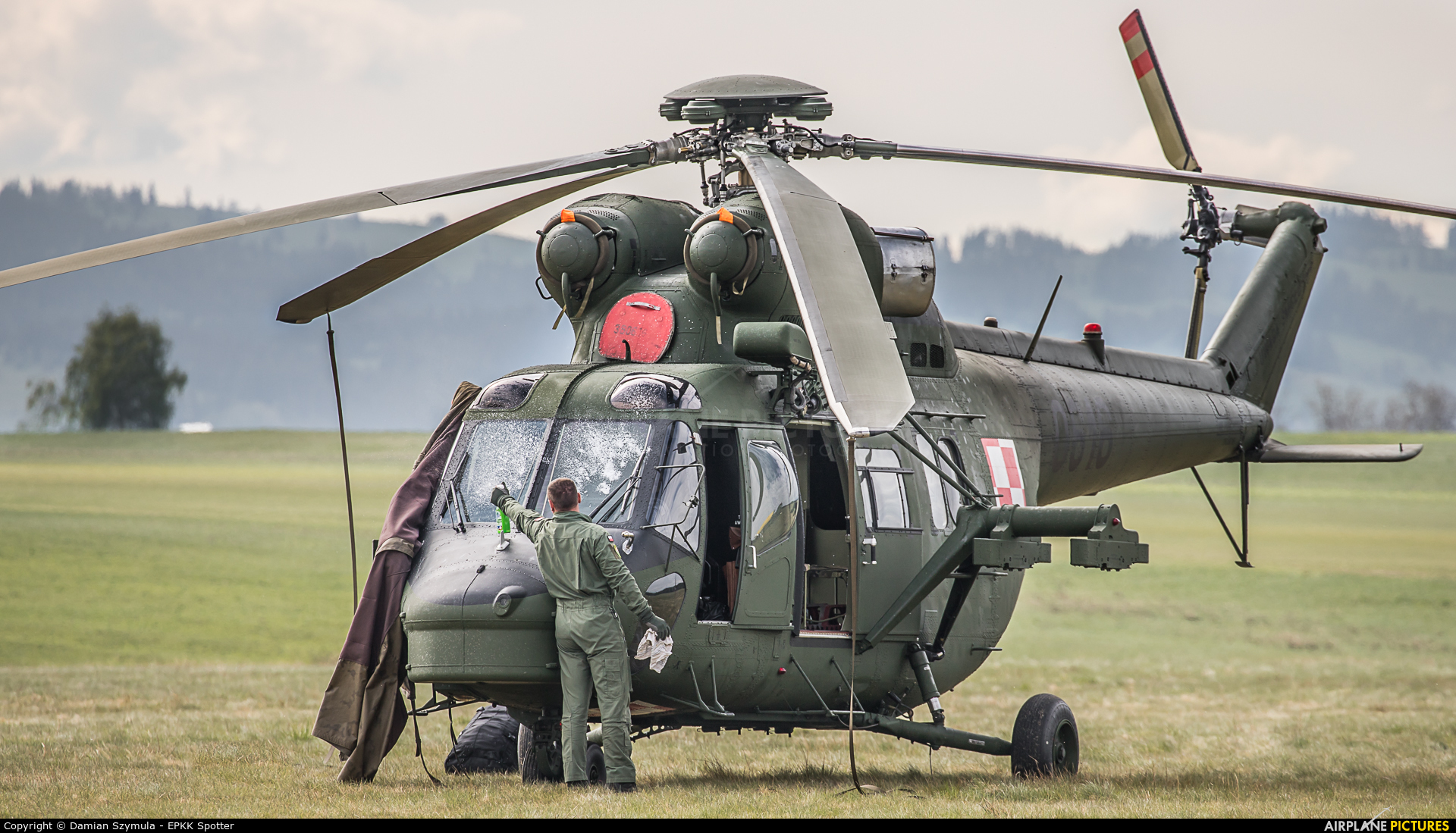 Poland - Army 0616 aircraft at Nowy Targ Airport