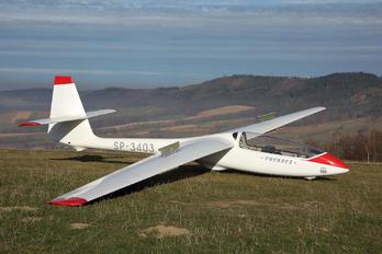 SP-3403 - Aeroklub Jeleniogorski PZL SZD-50 Puchacz