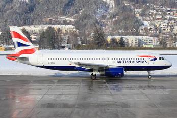 G-TTOE - British Airways Airbus A320