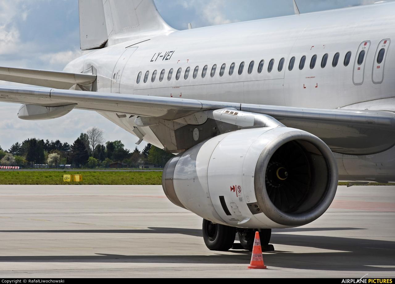 Avion Express LY-VEI aircraft at Warsaw - Frederic Chopin