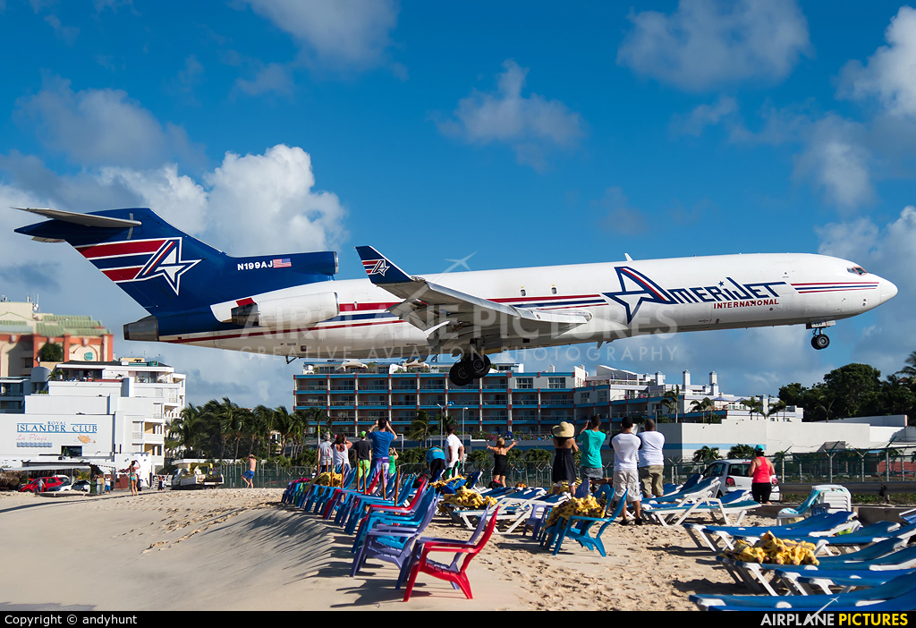 Amerijet International N199AJ aircraft at Sint Maarten - Princess Juliana Intl