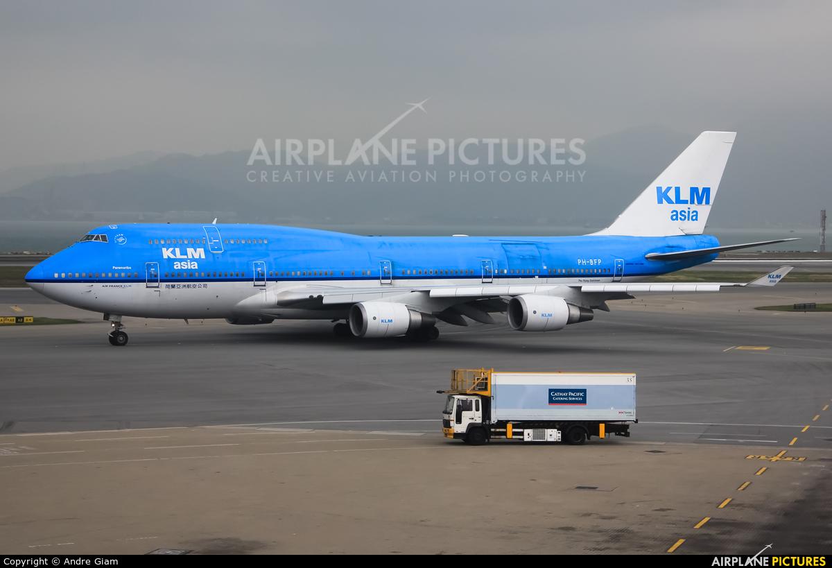KLM Asia PH-BFP aircraft at HKG - Chek Lap Kok Intl