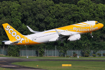 9V-TRM - Scoot Airbus A320