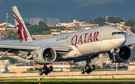 A7-BBG - Qatar Airways Boeing 777-200LR aircraft