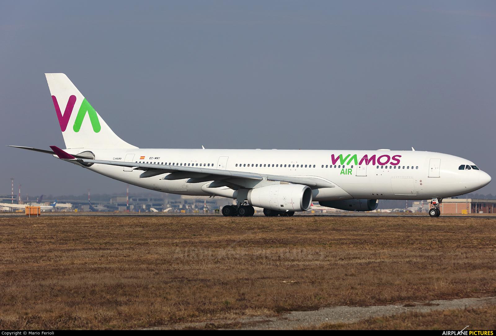 Wamos Air EC-MNY aircraft at Milan - Malpensa