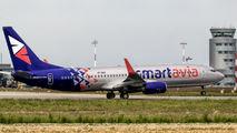 Smartavia Boeing 737 visited Rzeszów title=