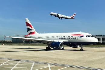 G-EUNA - British Airways Airbus A318