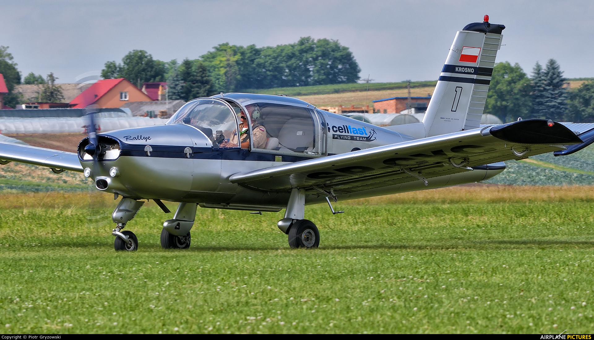 Private SP-CYC aircraft at Kraków - Pobiednik Wielki