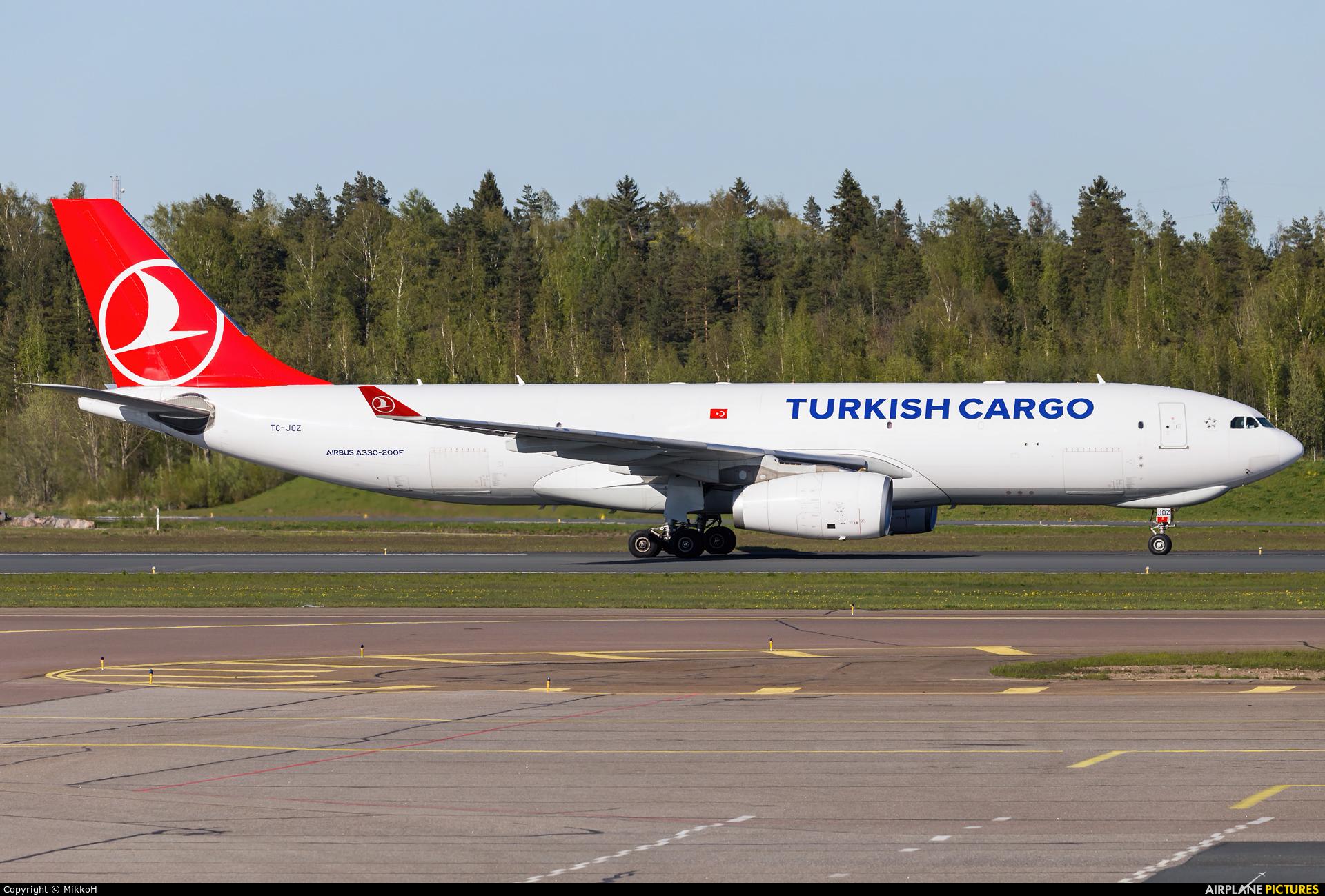 Turkish Cargo TC-JOZ aircraft at Helsinki - Vantaa