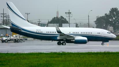 N8767 - Private Boeing 737-700 BBJ