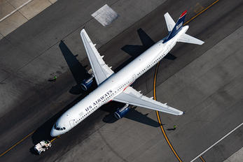 N198UW - US Airways Airbus A321
