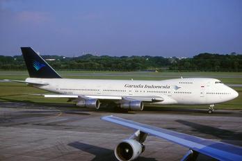 9V-SQQ - Garuda Indonesia Boeing 747-200