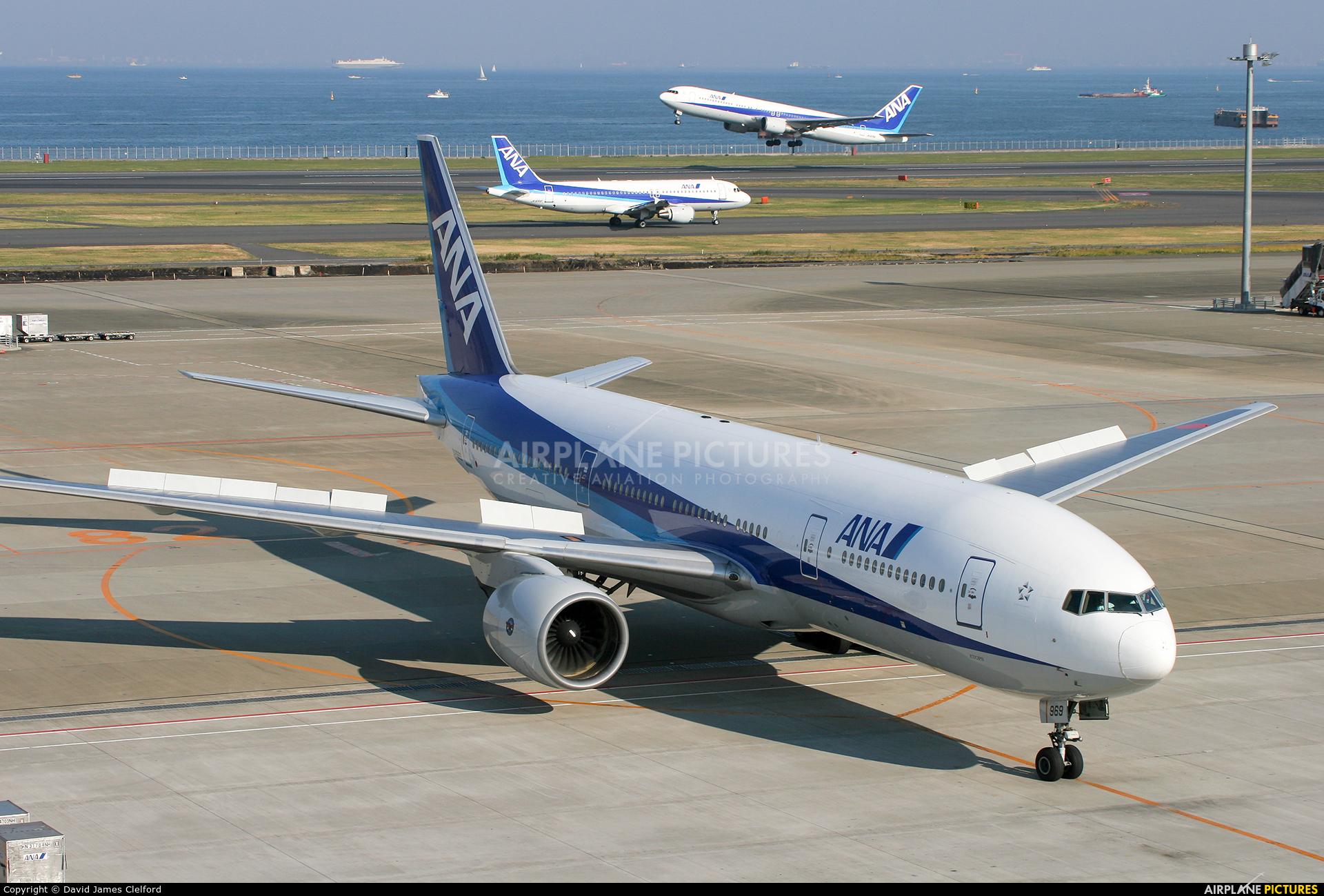 ANA - All Nippon Airways JA8969 aircraft at Tokyo - Haneda Intl
