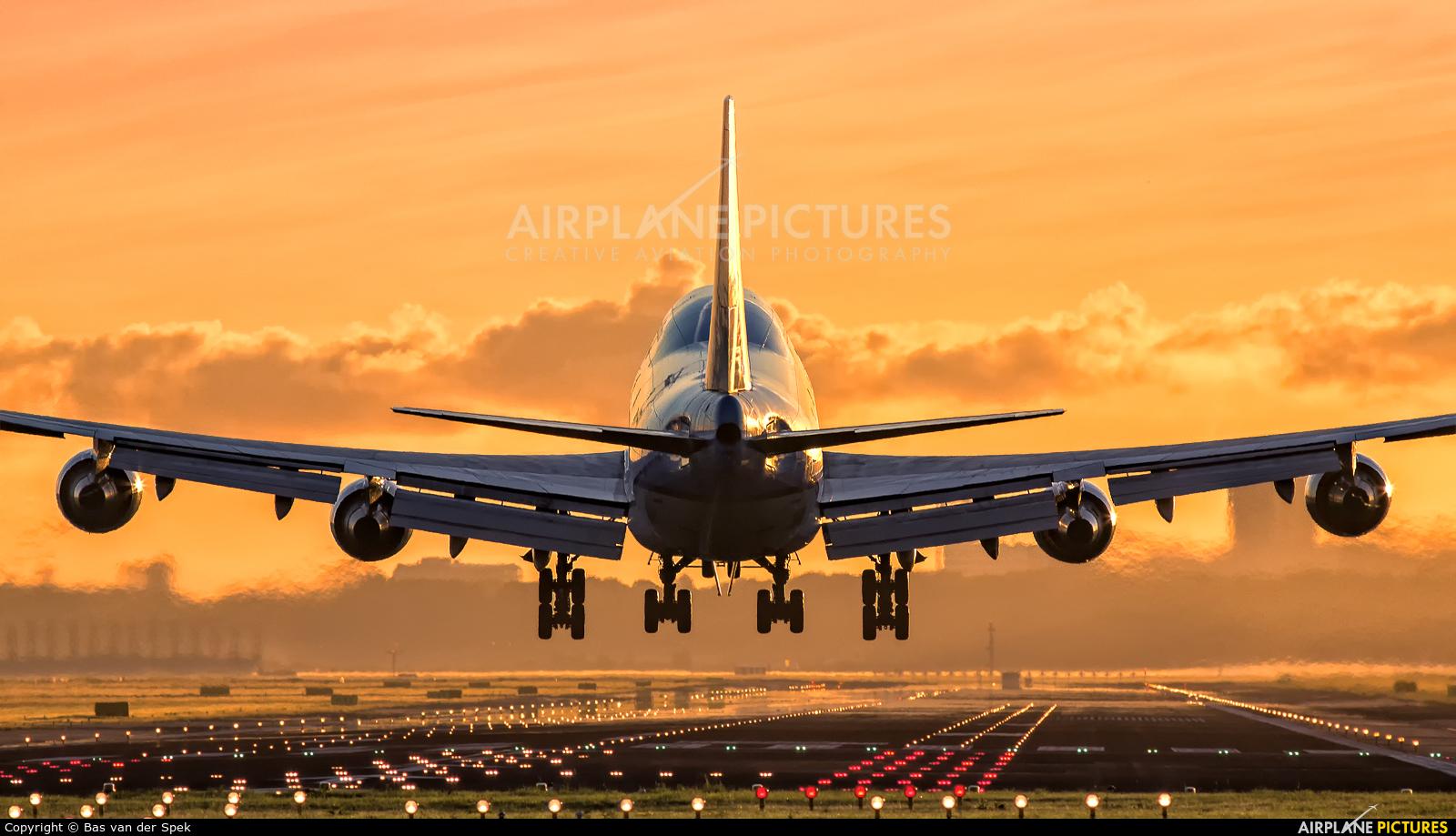KLM PH-BFE aircraft at Amsterdam - Schiphol