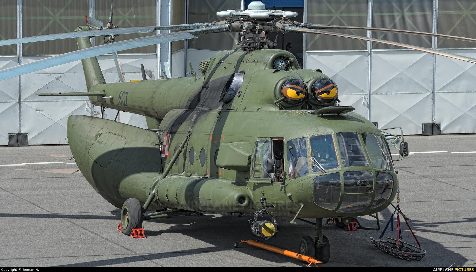 Poland - Army 607 aircraft at Bydgoszcz - Szwederowo