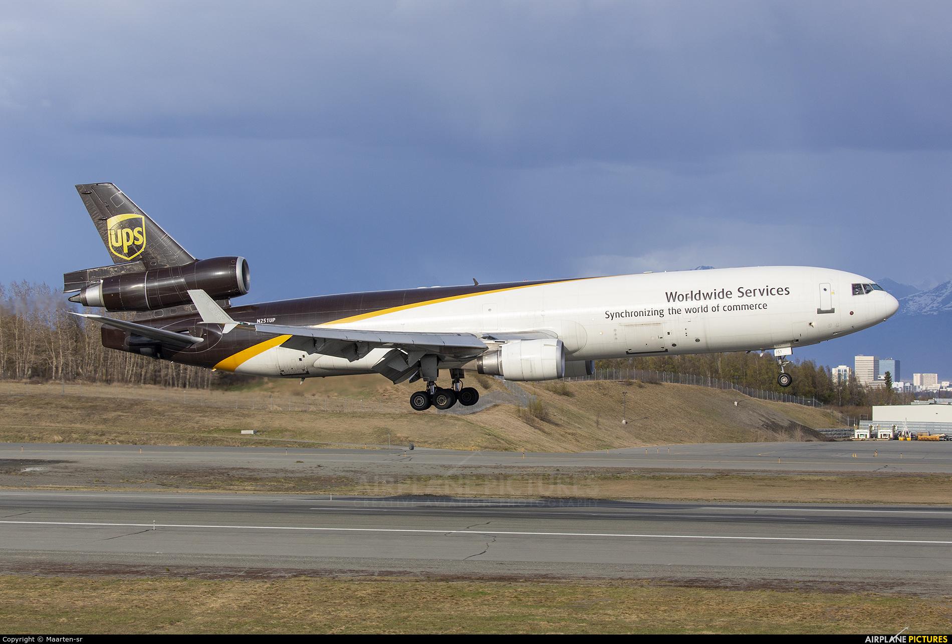 UPS - United Parcel Service N251UP aircraft at Anchorage - Ted Stevens Intl / Kulis Air National Guard Base