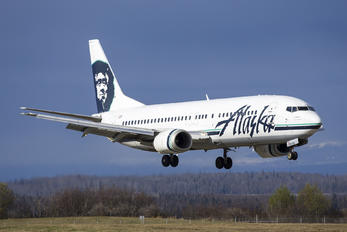 N708AS - Alaska Airlines Boeing 737-400