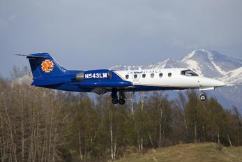 N543LM - Life Med Alaska Learjet 45