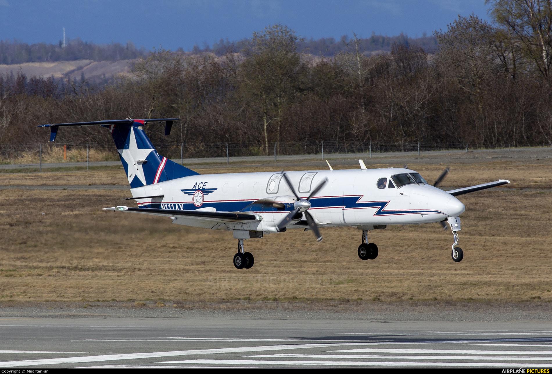 Alaska Central Express N111AX aircraft at Anchorage - Ted Stevens Intl / Kulis Air National Guard Base