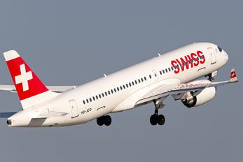 HB-JCO - Swiss Airbus A220-300