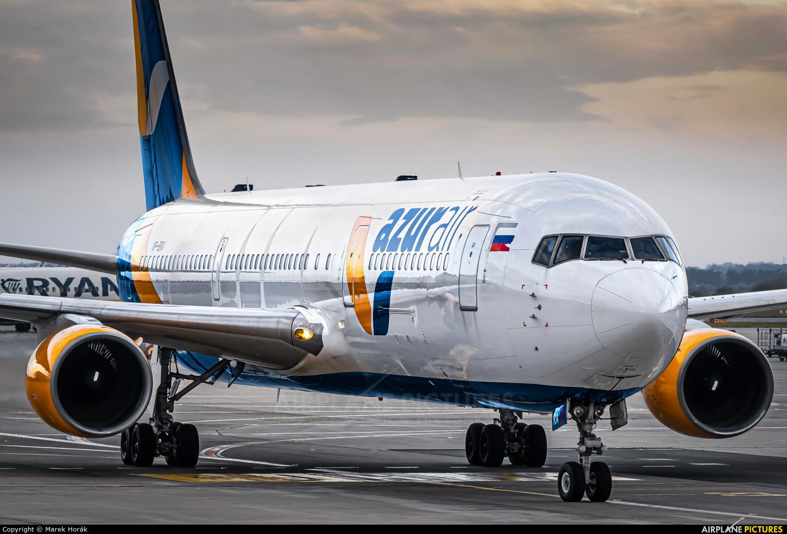 AzurAir VP-BRA aircraft at Prague - Václav Havel