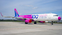 HA-LTD - Wizz Air Airbus A321 aircraft