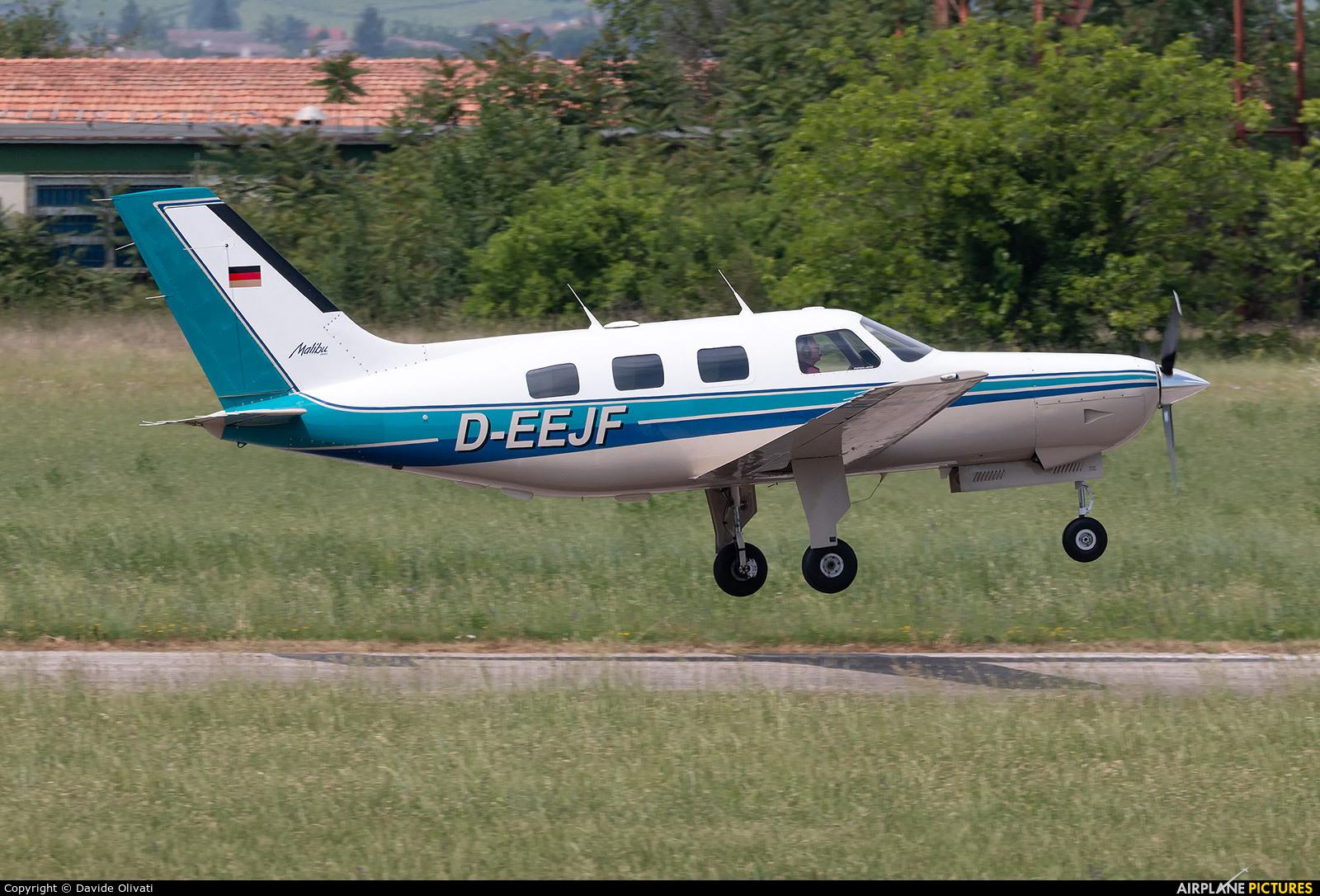 Private D-EEJF aircraft at Verona - Boscomantico