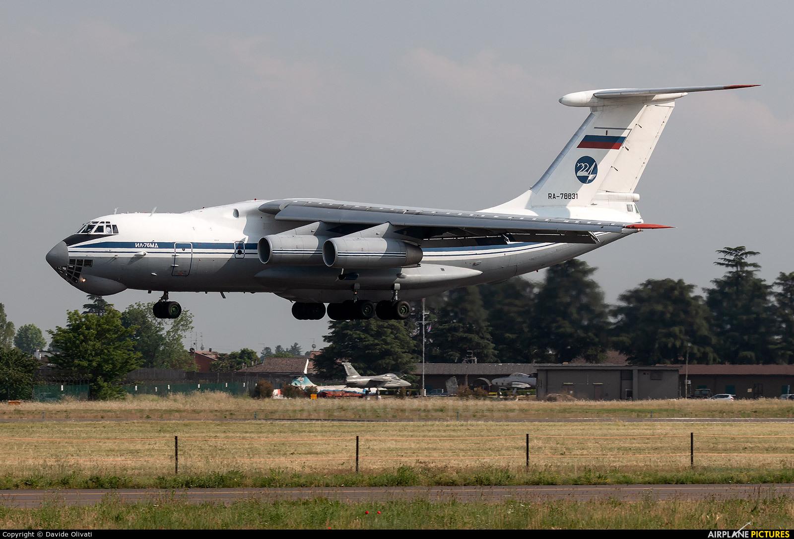 Russia - Air Force RA-78831 aircraft at Verona - Villafranca
