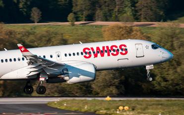 HB-JCD - Swiss Bombardier CS300