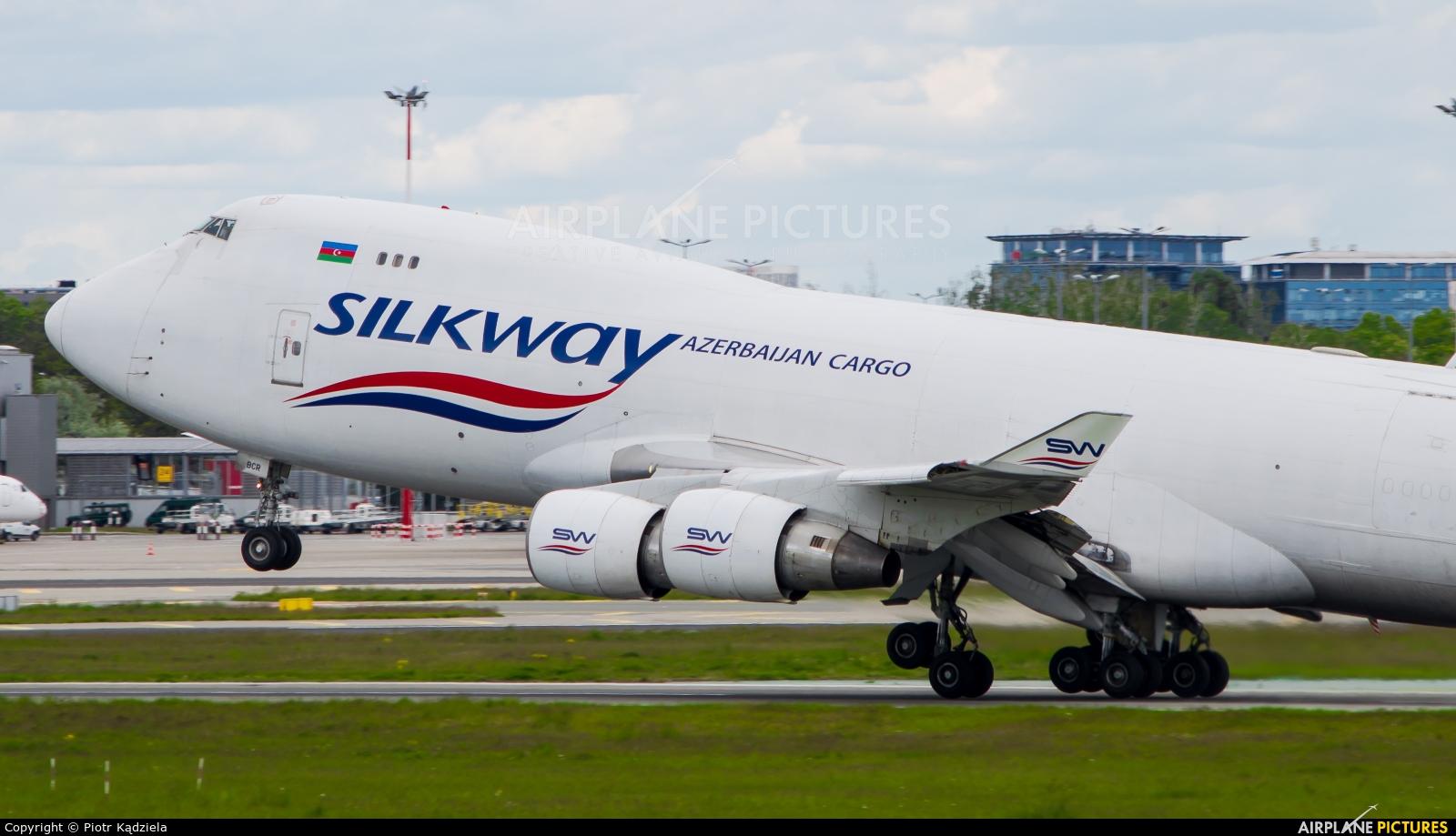 Silk Way Airlines VP-BCR aircraft at Warsaw - Frederic Chopin