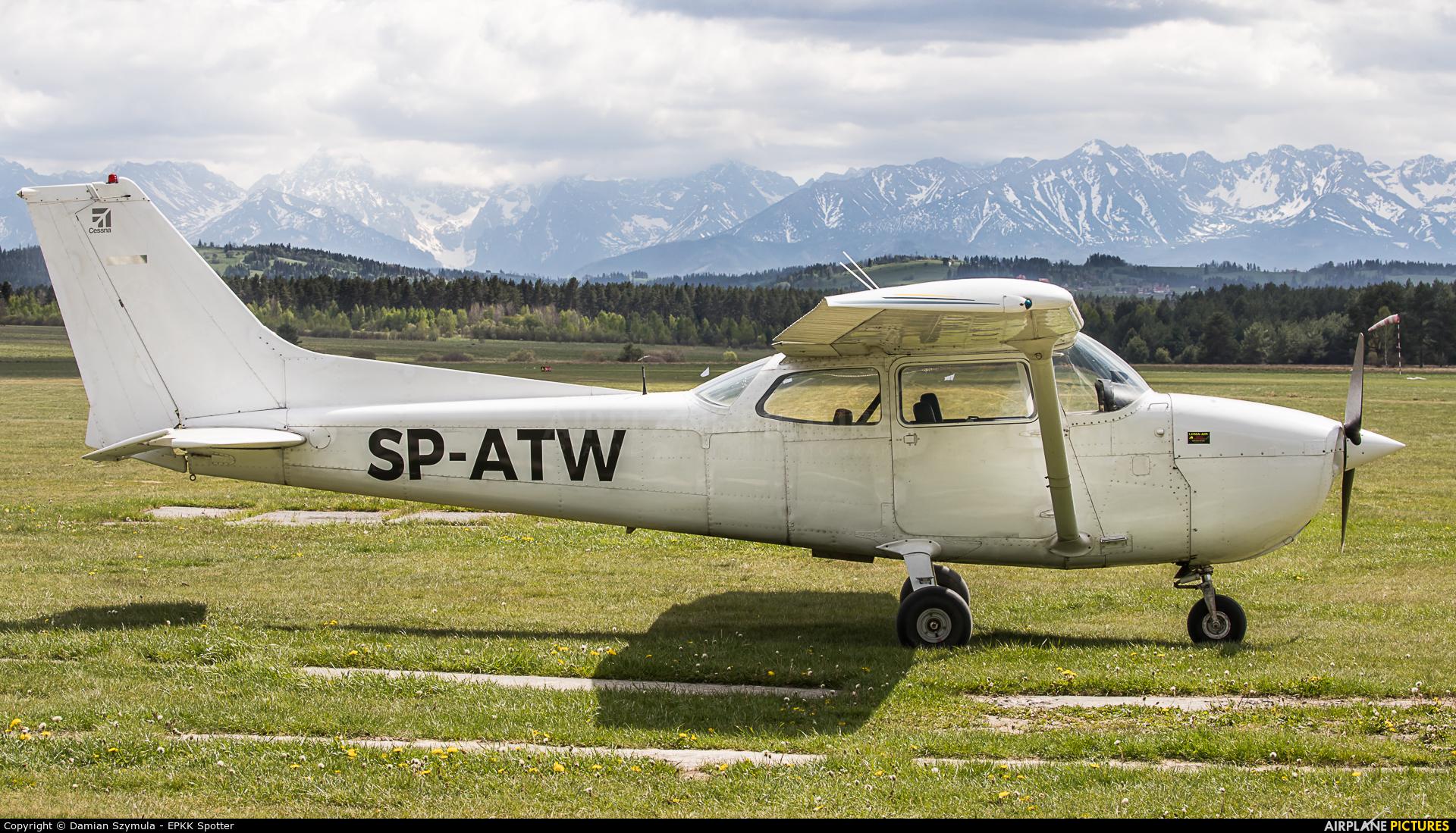 Aeroklub Nowy Targ SP-ATW aircraft at Nowy Targ Airport