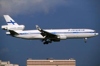 OH-LGA - Finnair McDonnell Douglas MD-11